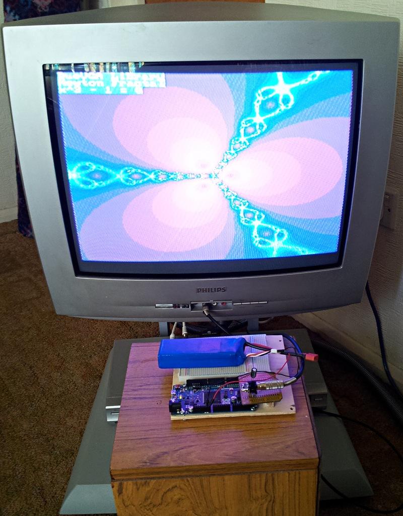 NTSC  PAL TV output  Due    VGA    library